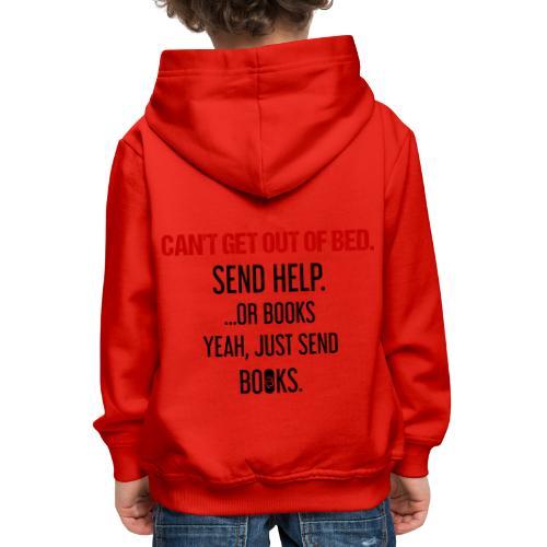 0278 books | Funny | Yeah | Bookrebels | Read - Kids' Premium Hoodie