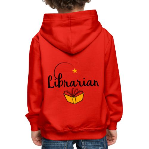 0326 Librarian & Librarian - Kids' Premium Hoodie
