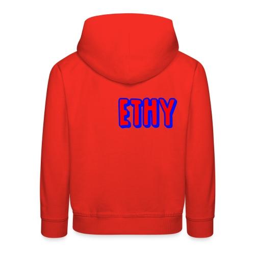Ethy Youtuber Design - Kids' Premium Hoodie