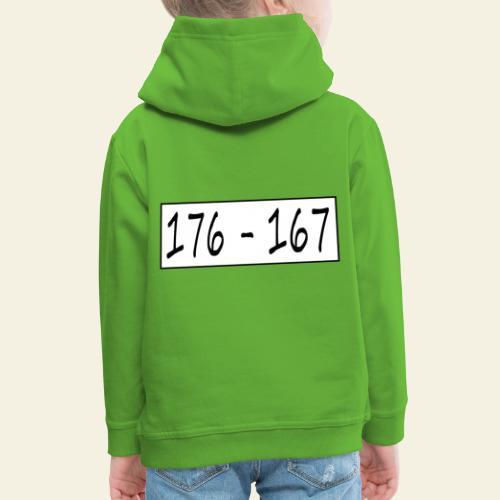 176167 - Premium hættetrøje til børn