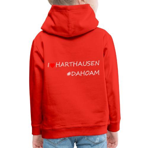 I ❤️ HARTHAUSEN #DAHOAM - Kinder Premium Hoodie
