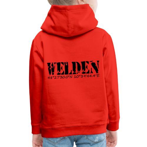WELDEN_NE - Kinder Premium Hoodie
