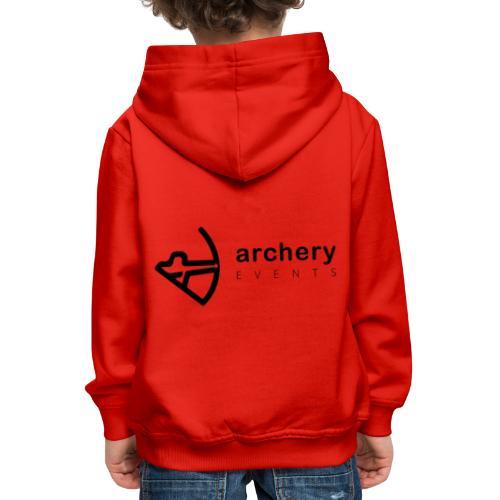 Archery Events Logo - Kinder Premium Hoodie