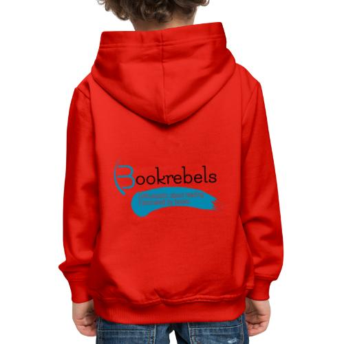 Bookrebels Enthusiastic - Black - Kids' Premium Hoodie