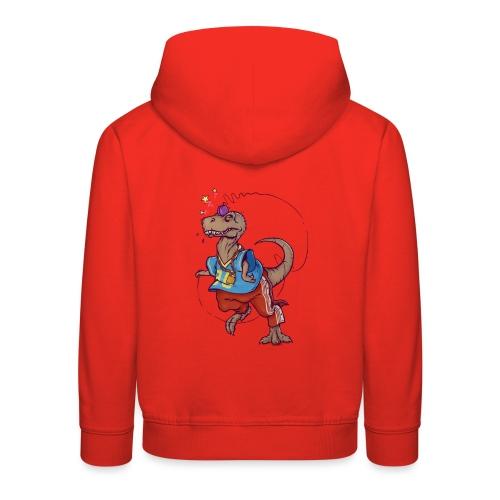 DINO 90 - Bluza dziecięca z kapturem Premium