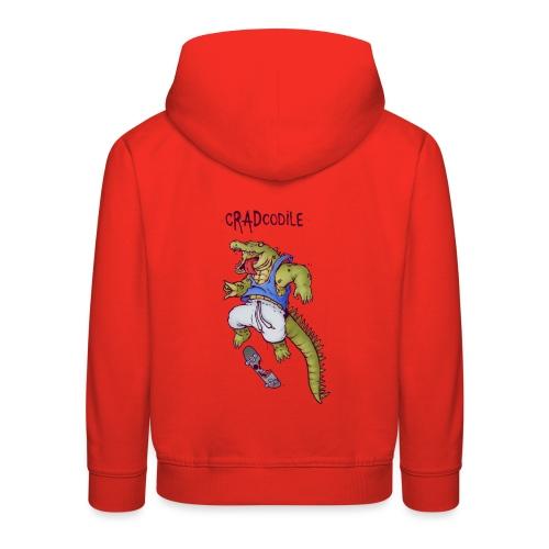 cRADcodile - Bluza dziecięca z kapturem Premium