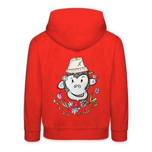FlowerMonkey - Pull à capuche Premium Enfant