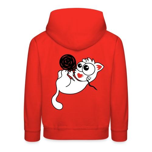 Babykatze Floop Kinder-Kapuzenpulli - Kinder Premium Hoodie