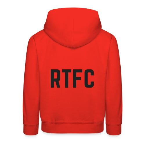 RTFC initials II - Kids' Premium Hoodie