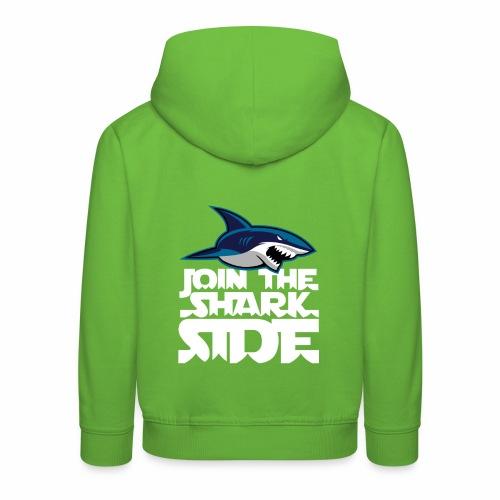 Join the shark side - Premium-Luvtröja barn