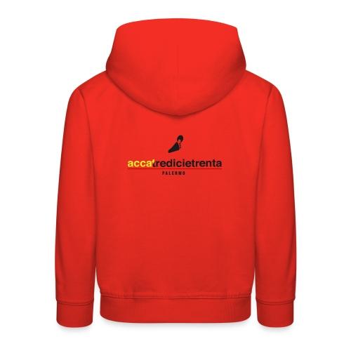 Logo Young Red Line - Felpa con cappuccio Premium per bambini