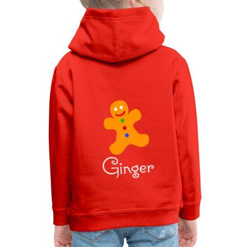 Gingerbread Man - Kids' Premium Hoodie