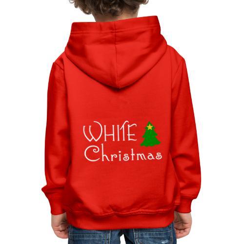 White Christmas - Kids' Premium Hoodie