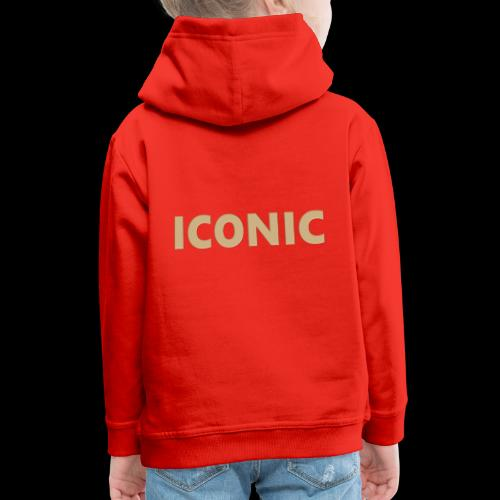 ICONIC [Cyber Glam Collection] - Kids' Premium Hoodie