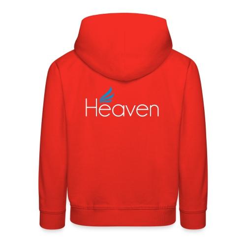 Heaven svart - Premium-Luvtröja barn