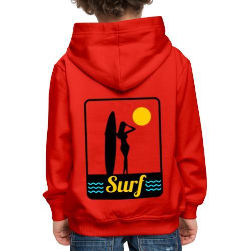 Surf - Pull à capuche Premium Enfant