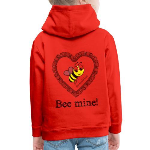 Bees3-1 save the bees | bee mine! - Kids' Premium Hoodie