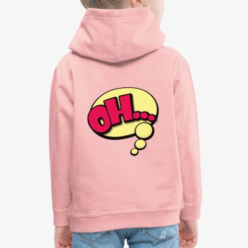 Serie Animados - Sudadera con capucha premium niño