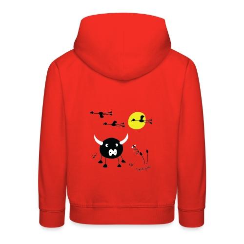 camargue rouge - Pull à capuche Premium Enfant