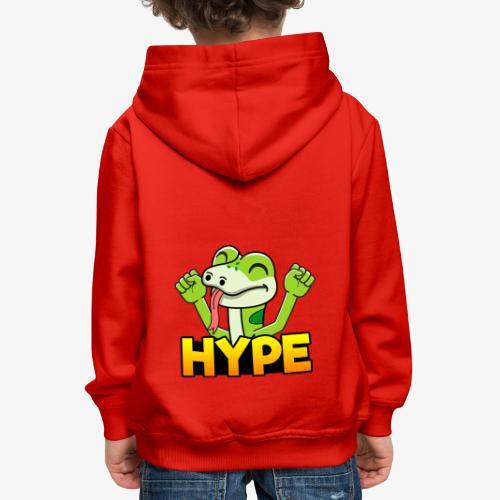 Ödlan Hype - Premium-Luvtröja barn