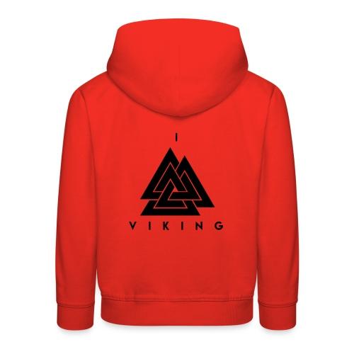 I lov Viking - Pull à capuche Premium Enfant