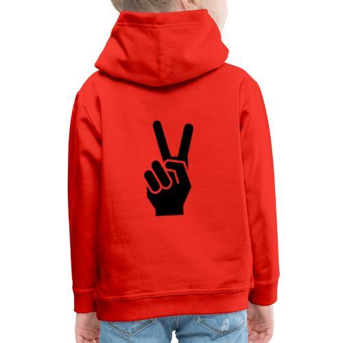 Peace,Frieden - Kinder Premium Hoodie