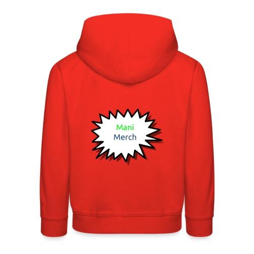 Manimerch boom - Kids' Premium Hoodie