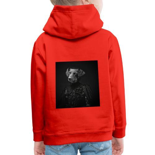 Lady Dog - Kinder Premium Hoodie