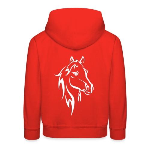 Vorschau: Horse - Kinder Premium Hoodie