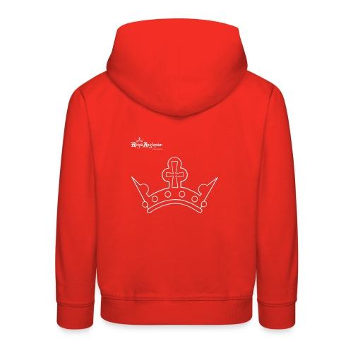 White Crown - Kids' Premium Hoodie