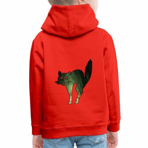 Le chat de la Peur - J'peux pas j'suis un Chat - Pull à capuche Premium Enfant