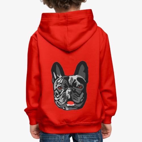 Bulldog - Pull à capuche Premium Enfant