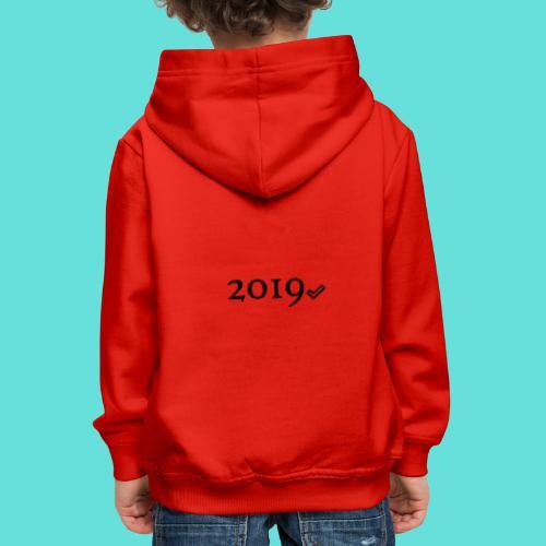Valide 2019 - Pull à capuche Premium Enfant