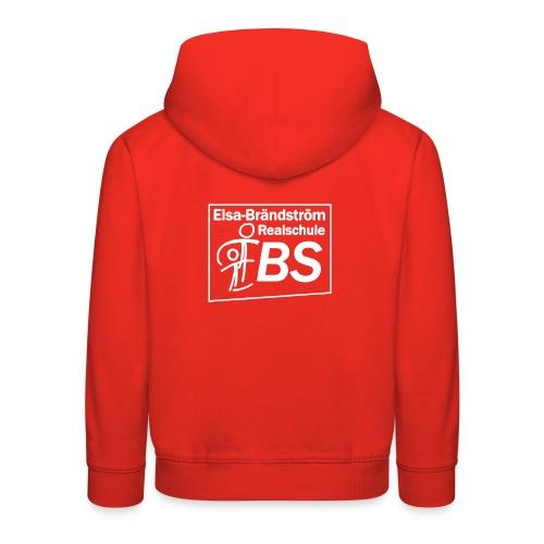 EBS Logo weiss png - Kinder Premium Hoodie