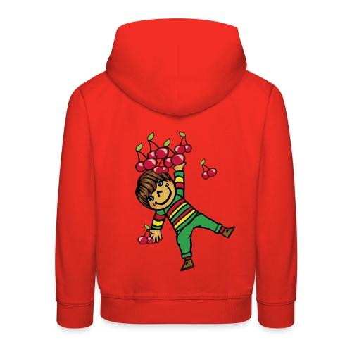 08 kinder kapuzenpullover hinten - Kinder Premium Hoodie