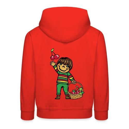 07 kinder kapuzenpullover hinten - Kinder Premium Hoodie