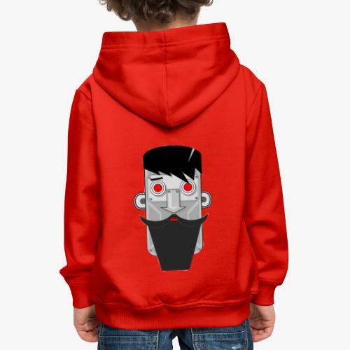 Robot hipster - Pull à capuche Premium Enfant