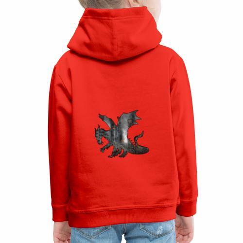 Le Dragon destructeur - J'peux pas j'ai Dragon - Pull à capuche Premium Enfant