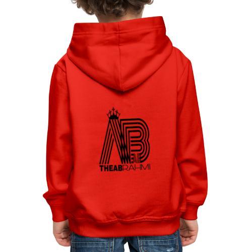 THEABRAHMI BLACK - Pull à capuche Premium Enfant