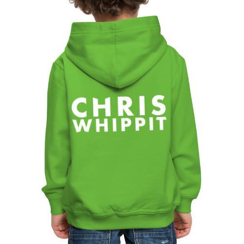 ChrisWhippit Tshirt logo - Premium-Luvtröja barn