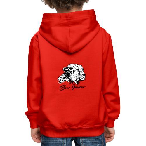 Bow Hunter Gepard 2 färbig - Kinder Premium Hoodie