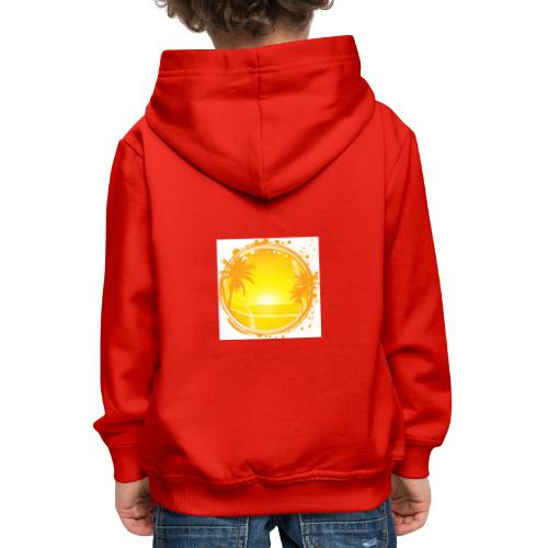 Sunburn - Kids' Premium Hoodie