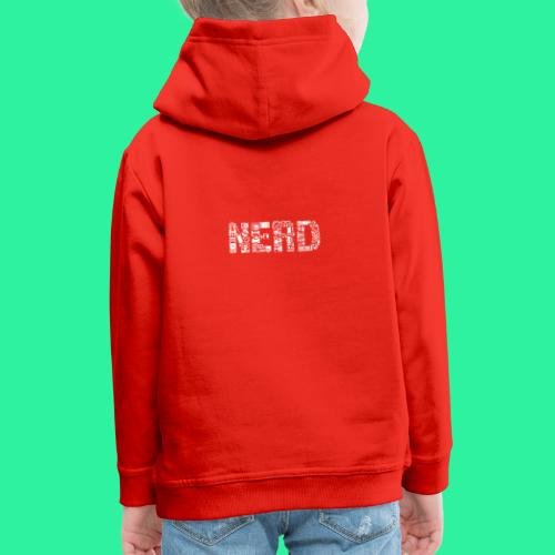 Nerd - Kinder Premium Hoodie