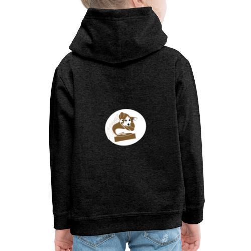 Droove logo - Kinderen trui Premium met capuchon
