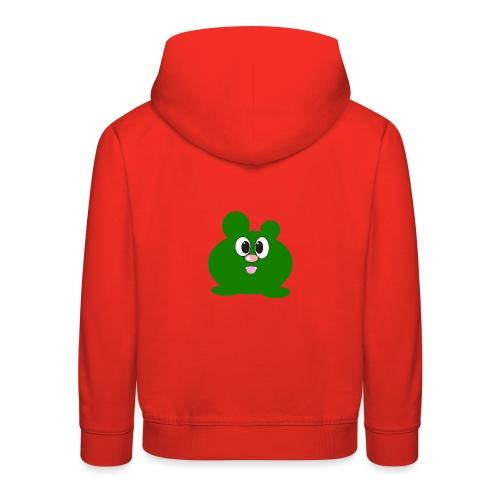 Green Monster by ArtShirt Kidz - Kids' Premium Hoodie