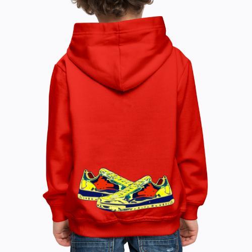 sneakers - Kids' Premium Hoodie