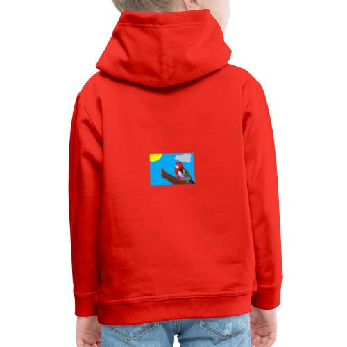 fantasimm 3 - Felpa con cappuccio Premium per bambini
