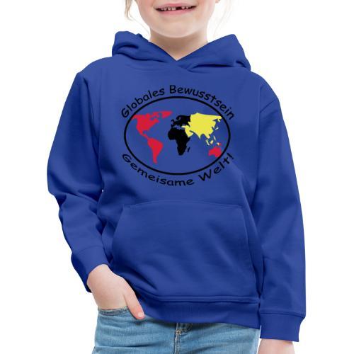TIAN GREEN - Globales Bewusstsein - Kinder Premium Hoodie