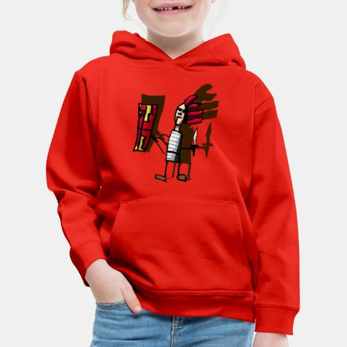 Romano color pantone - Sudadera con capucha premium niño