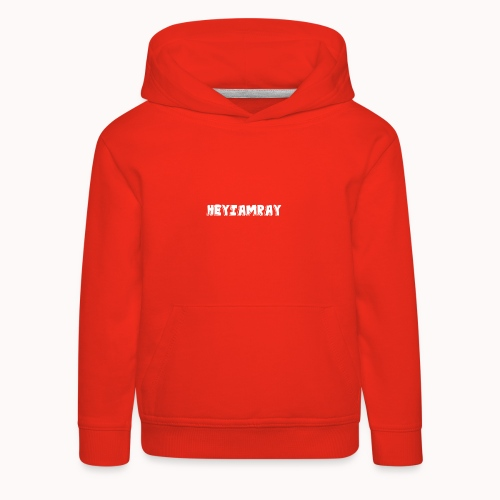 HeyIAmRay Merchandise - Kinderen trui Premium met capuchon